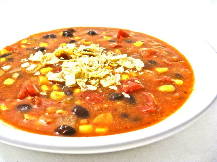 Vegetarian Tortilla Soup Recipes — Dishmaps