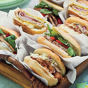 Pressed Cuban Sandwiches | MyRecipes.com Note: Recipe call for roasted ...