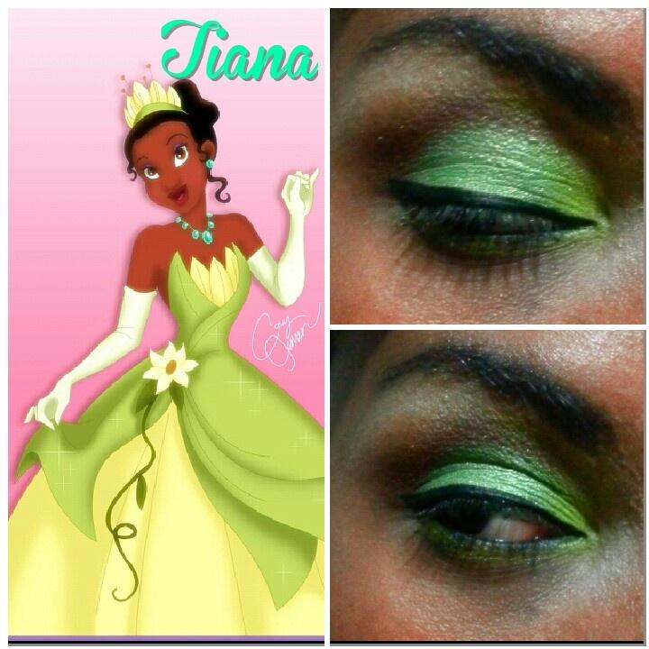 Princess Tiana Makeup: Tiana Makeup: Princess And The Frog