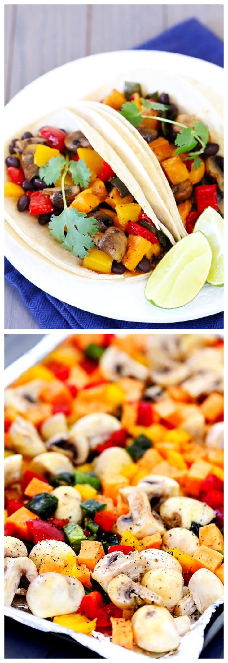 Black Bean Tacos -- a quick, easy, delicious and filling vegetarian ...