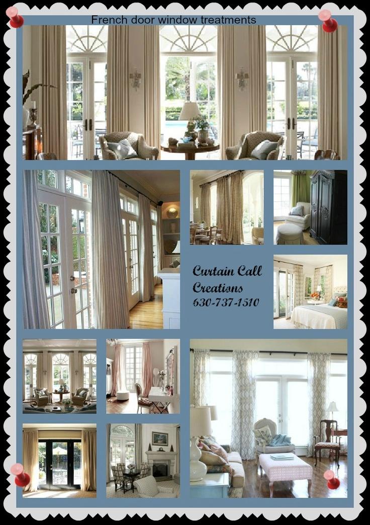 french door window treatment ideas windows pinterest