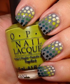 Polka Dots! Love the colours