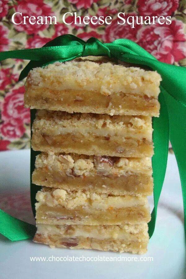Cream Cheese Squares | Recipes | Pinterest