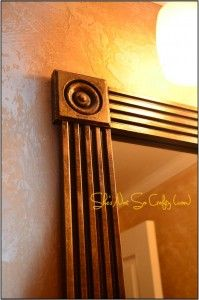 Dress Up Your Builder Grade Mirrors