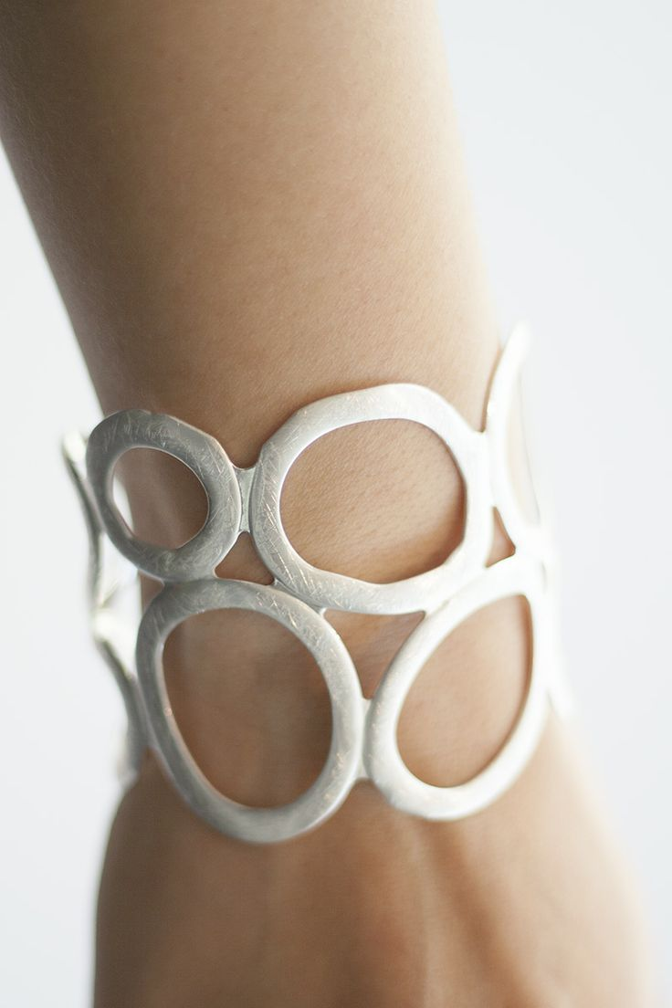 Takobia jewelry is made from lightweight iron, brass, or zinc alloy and then silver or gold plated.