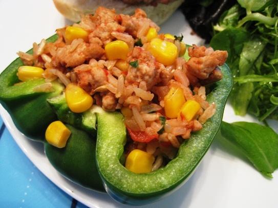 Stuffed Green Peppers | GOOD FOOD | Pinterest