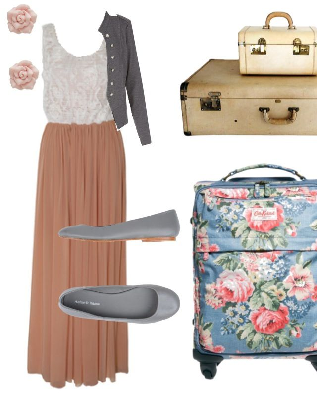 Travel outfit. Modest and elegant | Spring And Summer Outfits | Pinterest