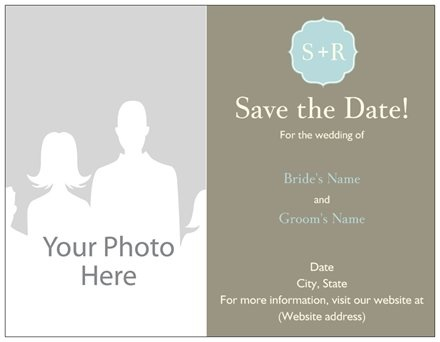 Indian Wedding Invitation Cards - Save the Date