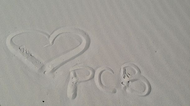 You'll fall in love with the white sands of Panama City Beach