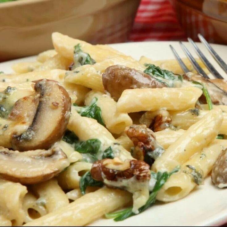 Mushroom Pasta | Pastas | Pinterest