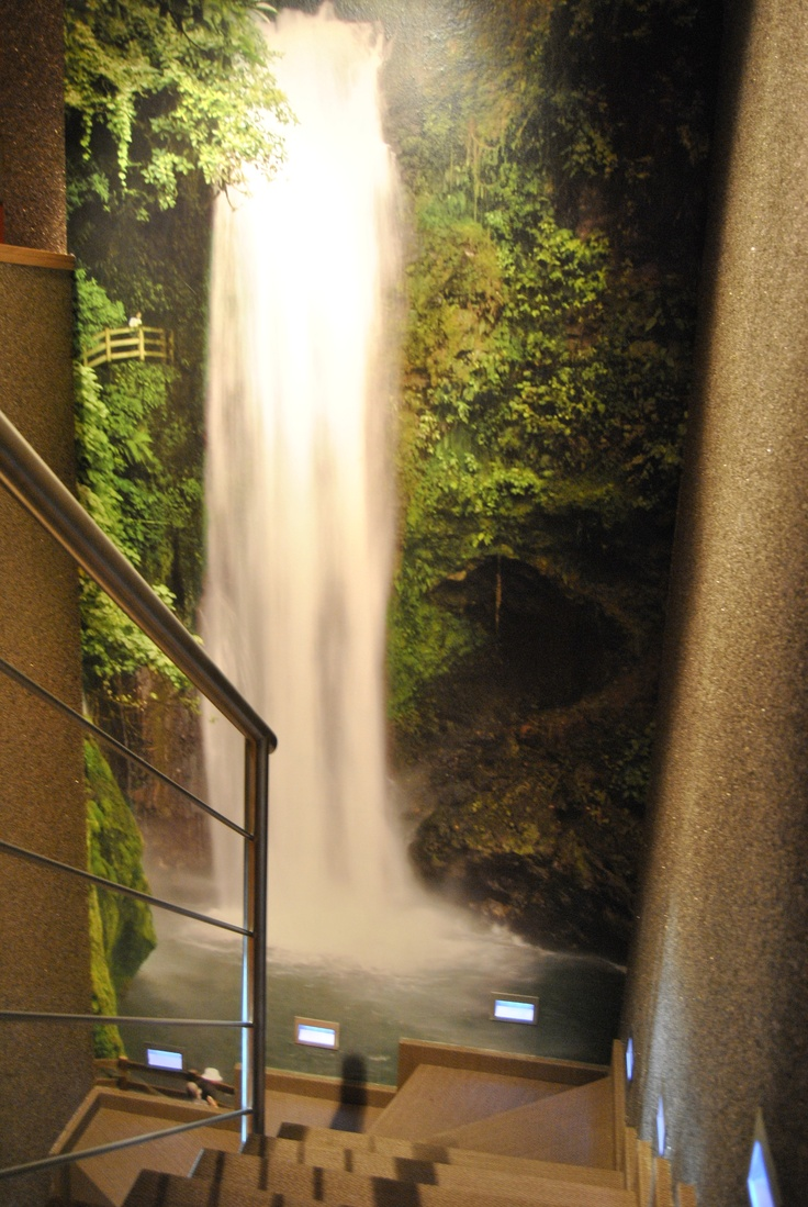 Home Water Fall Stairs : ... Stairs, Descansillo, Waterfall, Cascada, Wallpaper, Nature, Jungle