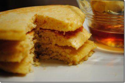 Cornbread Pancakes by Iowa Girl Eats | Food & Drink