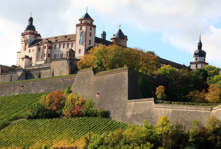 The marienberg fortress in wurzburg germany pinterest