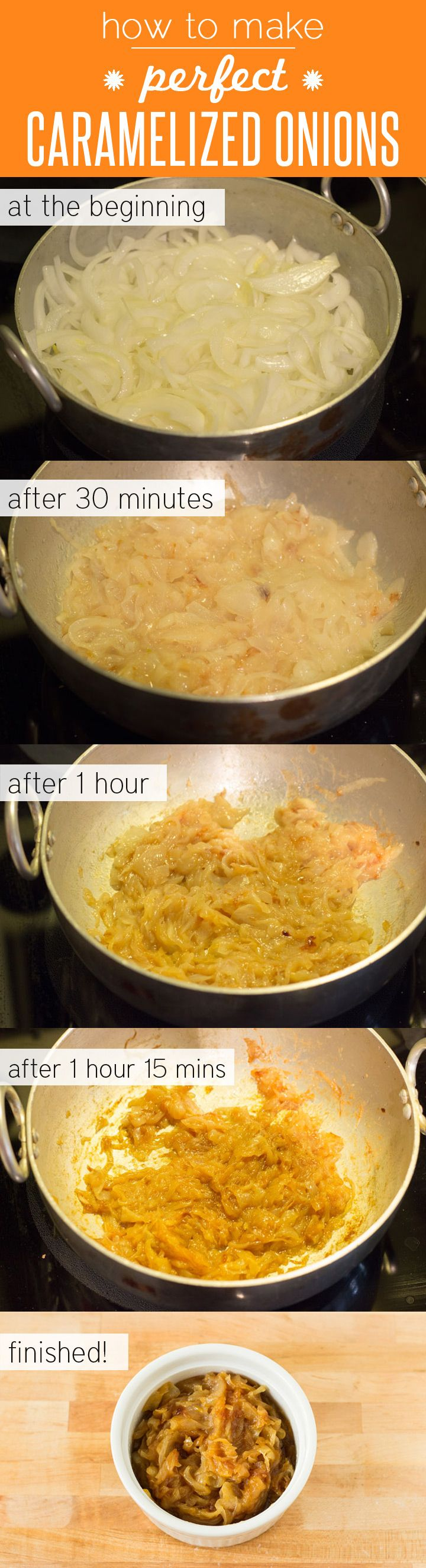 How to Make Perfect Caramelized Onions with Step-by-Step Pictures