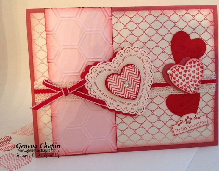 valentines card making