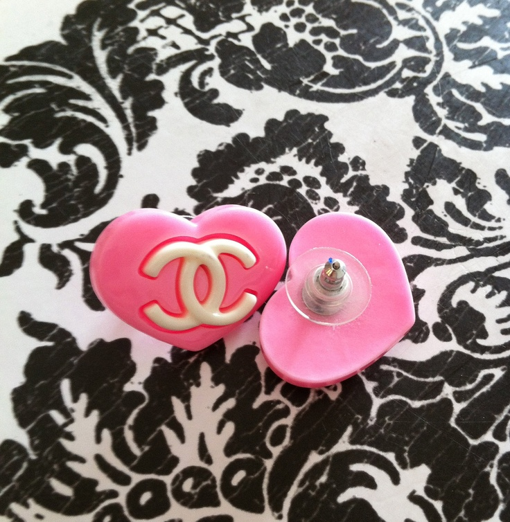 chanel plug earrings