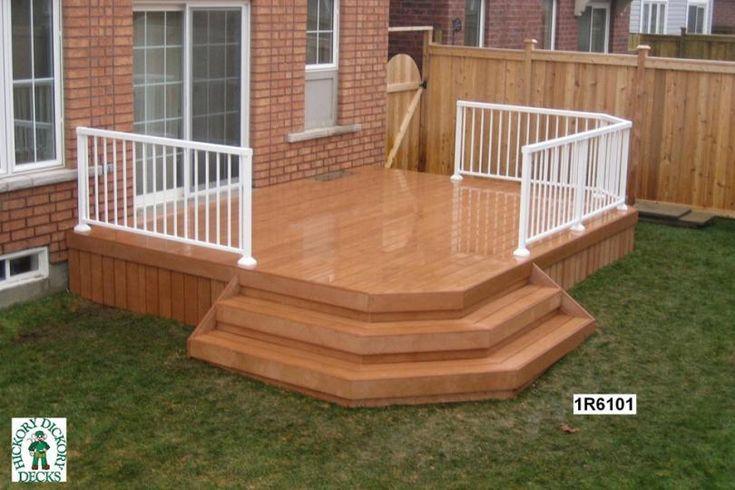 Low Level Deck Designs : Spectacular low level deck plans house