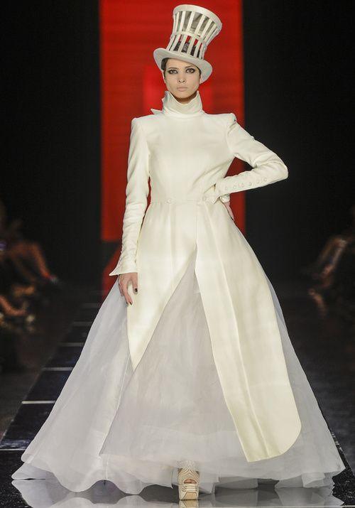 robe de mariée haute couture  Mode  Pinterest