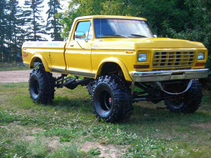 Nice lifted ford trucks