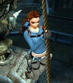 Lara Croft Tomb Raider  Legend screenshotTomb Raider Legend Screenshot