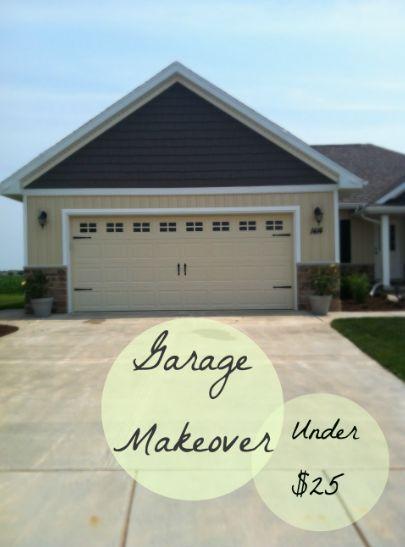 A Diy Garage Door Makeover