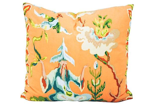 Pillow w/ Clarence House Fabric on OneKingsLane.com