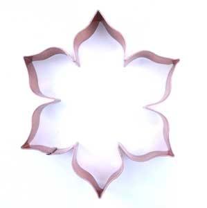 Copper Cookie Cutter - Pointsettia | Season of Advent | Pinterest