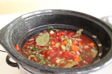 Crockpot Creamy Tomato Parmesan Soup... | Dinner | Pinterest