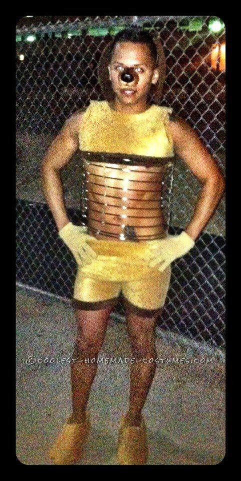 Best homemade slinky dog halloween costume idea
