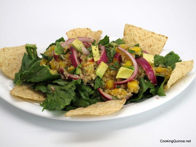 Quinoa Taco Salad | Recipe