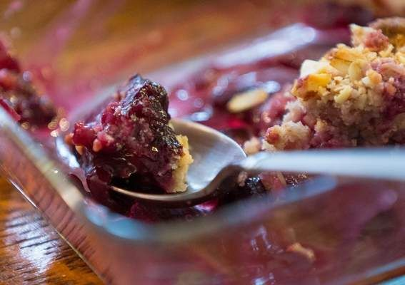 Recipes: Roasted strawberry and buttermilk ice cream / Ginger rhubarb ...