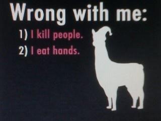 Carlll.  That kills people!!!