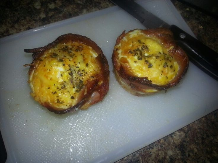 Bacon and egg cupcakes | Food/Coffee | Pinterest