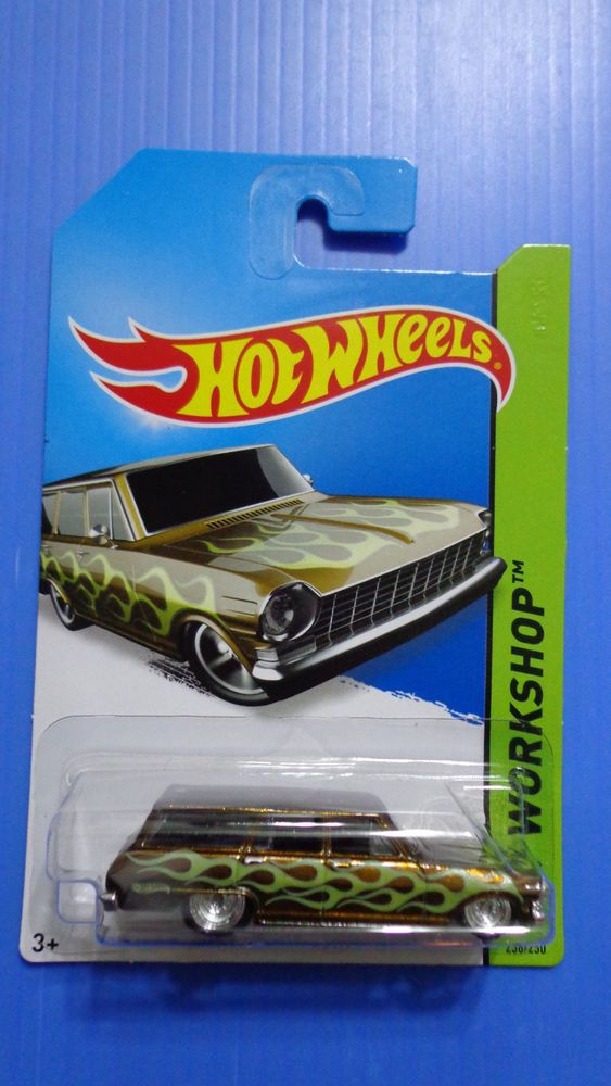 RELATED Posts: Hot Wheels 2014 Super Treasure Hunt 64 Chevy Nova Wagon ...