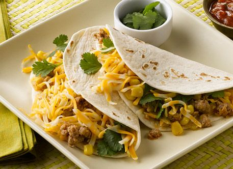 Southwestern Soft Tacos Recipe | Food Photography | Pinterest