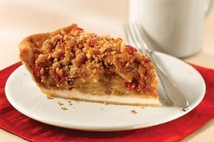 Cranberry-Pear Crumble Pie. | ~*~ Fruits ~*~ | Pinterest