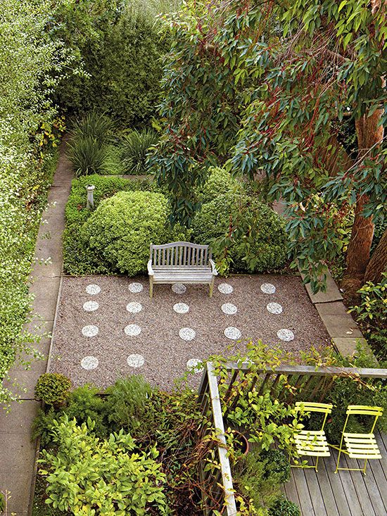 Backyard Landscape Ideas With No Grass : Triyae no grass backyard landscape ideas various