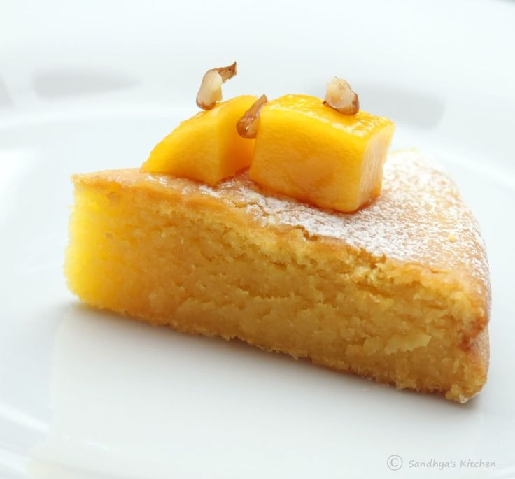 Images For Mango Cake : Sandhya s Kitchen: Eggless Mango Cake Cookies and more ...