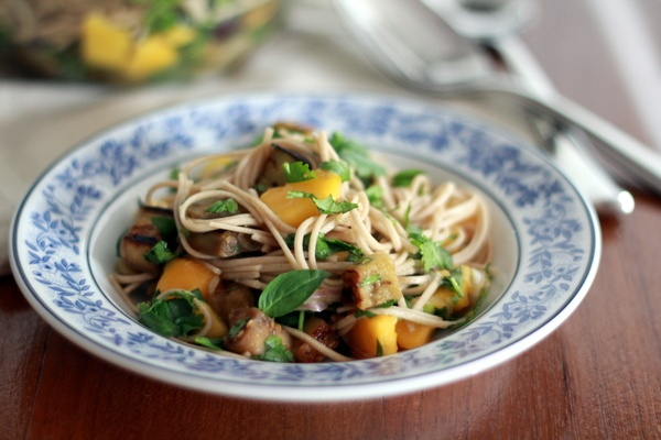 recipes      travel      little things      holidays      bangkok      about      contact    soba noodles with eggplant and mango