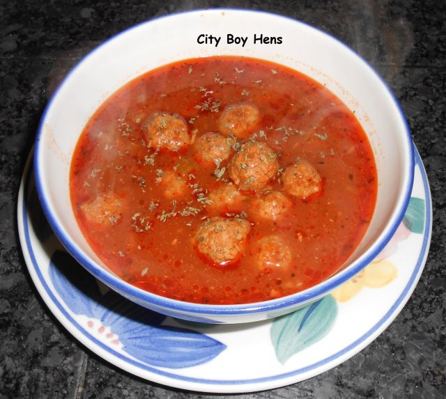 Italian Meatball Soup | Food & Drink | Pinterest