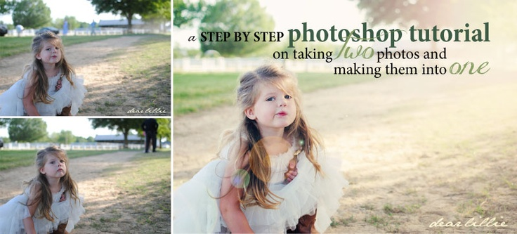 Dear Lillie: Photoshop Tutorial - Use Two Photos to Get the One You Want