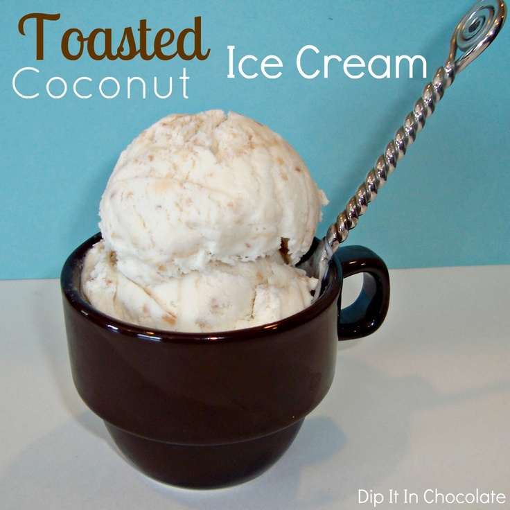 Dip it in Chocolate: Toasted Coconut Ice Cream & Almond Joy Ice Cream