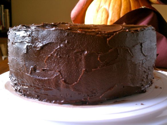 Double chocolate layer cake | Cakes and Cupcakes | Pinterest