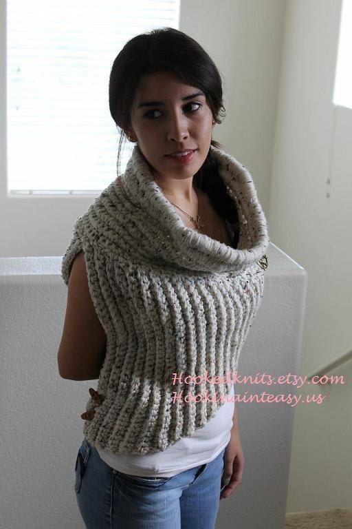 how to wear scarf like a poncho