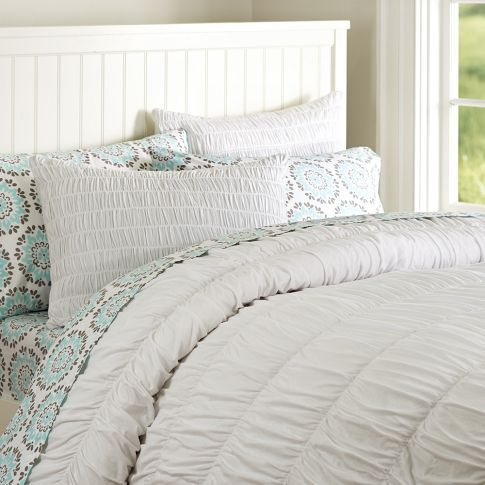 Ruched Duvet Pottery Barn Teen Ideas For Kids Bedrooms