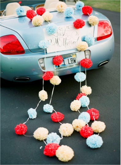 Just married car decorations ideas for my future wedding for Just married dekoration