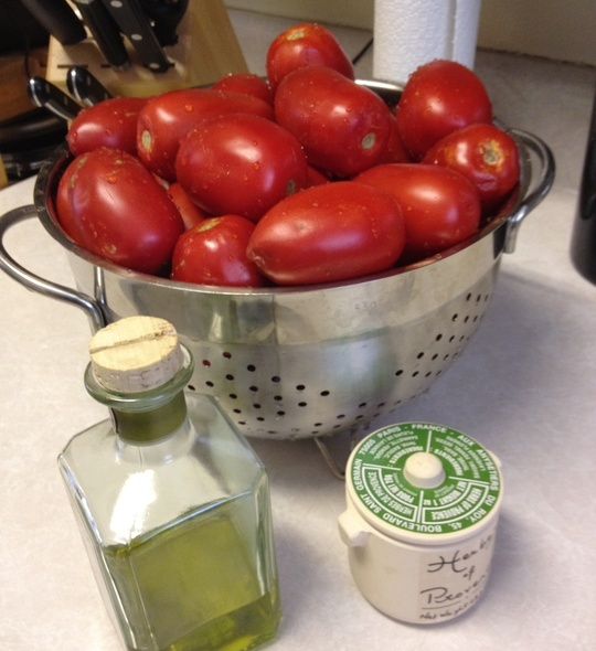 How to Cook Slow Roasted Tomato Sauce by Amie Pfeifer