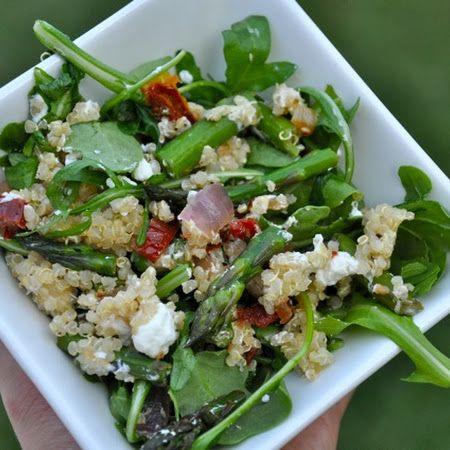 Arugula, Quinoa and Warm Vegetable Salad | Real Healthy Recipes