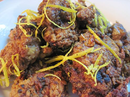 Crispy Spiced Chicken Livers Recipes — Dishmaps