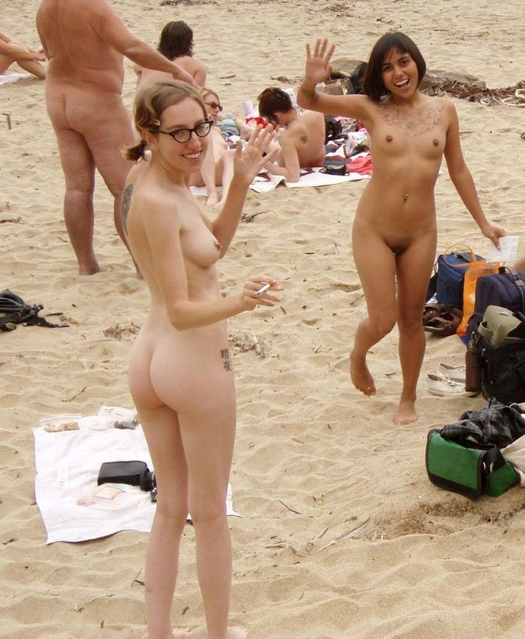 Nude Beach Pics - Cuties at the beach. | Ladies On The ...